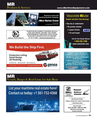 Maritime Reporter Magazine, page 79,  Oct 2019