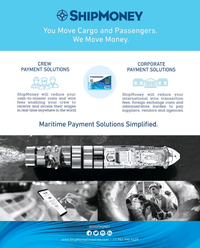 Maritime Reporter Magazine, page 3rd Cover,  Oct 2019