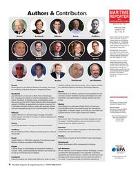 Maritime Reporter Magazine, page 4,  Nov 2019