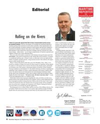 Maritime Reporter Magazine, page 6,  Nov 2019