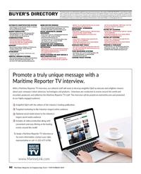 Maritime Reporter Magazine, page 90,  Nov 2019