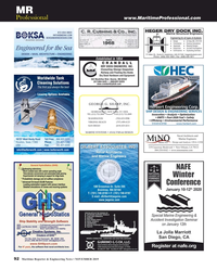 Maritime Reporter Magazine, page 92,  Nov 2019