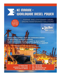Maritime Reporter Magazine, page 3rd Cover,  Nov 2019