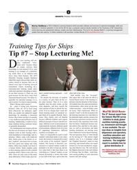 Maritime Reporter Magazine, page 8,  Dec 2019