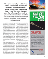 Maritime Reporter Magazine, page 11,  Dec 2019