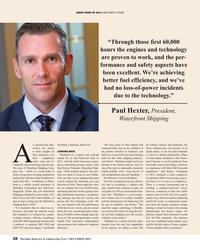 Maritime Reporter Magazine, page 28,  Dec 2019