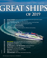 Maritime Reporter Magazine, page 2,  Dec 2019