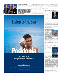 Maritime Reporter Magazine, page 42,  Dec 2019