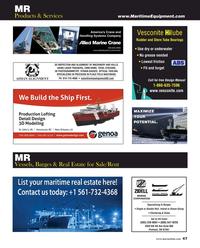 Maritime Reporter Magazine, page 47,  Dec 2019
