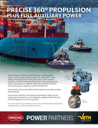Maritime Reporter Magazine, page 2nd Cover,  Jan 2020