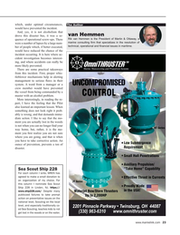 Maritime Reporter Magazine, page 23,  Jan 2020