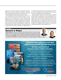 Maritime Reporter Magazine, page 27,  Jan 2020