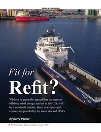 Maritime Reporter Magazine, page 32,  Jan 2020
