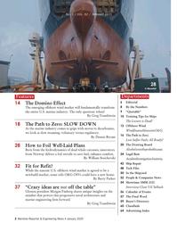 Maritime Reporter Magazine, page 2,  Jan 2020