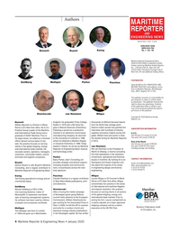 Maritime Reporter Magazine, page 4,  Jan 2020