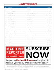 Maritime Reporter Magazine, page 64,  Jan 2020