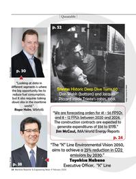 Maritime Reporter Magazine, page 10,  Feb 2020