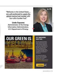 Maritime Reporter Magazine, page 11,  Feb 2020