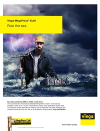 Maritime Reporter Magazine, page 2nd Cover,  Feb 2020