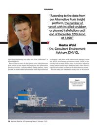 Maritime Reporter Magazine, page 36,  Feb 2020