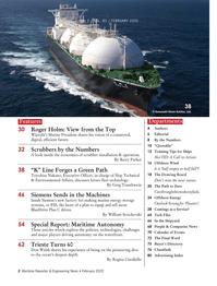 Maritime Reporter Magazine, page 2,  Feb 2020