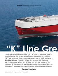 Maritime Reporter Magazine, page 38,  Feb 2020