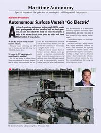 Maritime Reporter Magazine, page 56,  Feb 2020