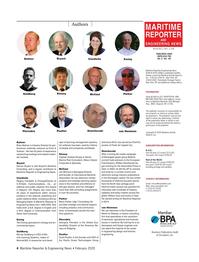Maritime Reporter Magazine, page 4,  Feb 2020