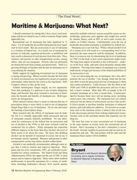 Maritime Reporter Magazine, page 72,  Feb 2020