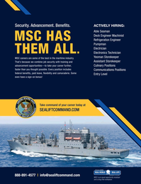 Maritime Reporter Magazine, page 1,  Mar 2020
