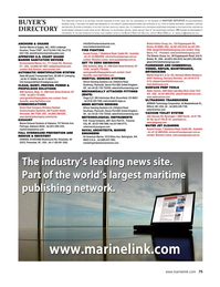 Maritime Reporter Magazine, page 75,  Mar 2020