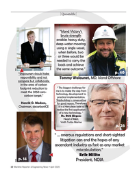 Maritime Reporter Magazine, page 10,  Apr 2020