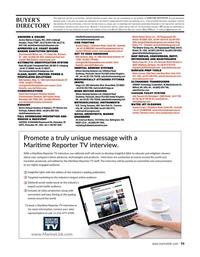 Maritime Reporter Magazine, page 59,  Apr 2020