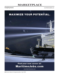 Maritime Reporter Magazine, page 60,  Apr 2020