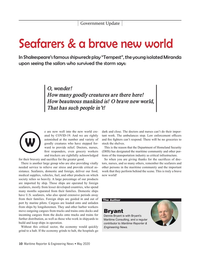 Maritime Reporter Magazine, page 10,  May 2020