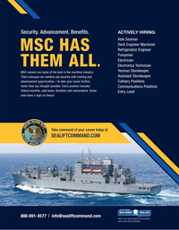 Maritime Reporter Magazine, page 1,  May 2020