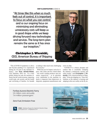 Maritime Reporter Magazine, page 29,  May 2020