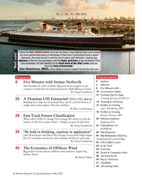 Maritime Reporter Magazine, page 2,  May 2020