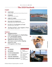 Maritime Reporter Magazine, page 2,  Jun 2020