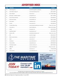 Maritime Reporter Magazine, page 64,  Jun 2020