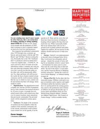 Maritime Reporter Magazine, page 6,  Jun 2020