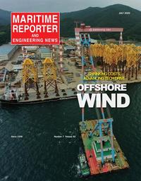 Maritime Reporter Magazine Cover Jul 2020 - Maritime Power Edition