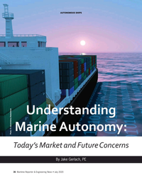 Maritime Reporter Magazine, page 36,  Jul 2020