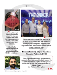 Maritime Reporter Magazine, page 10,  Aug 2020