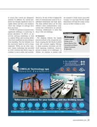 Maritime Reporter Magazine, page 17,  Aug 2020