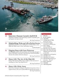 Maritime Reporter Magazine, page 2,  Aug 2020