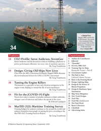 Maritime Reporter Magazine, page 2,  Sep 2020