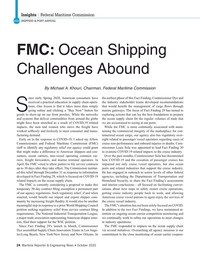 Maritime Reporter Magazine, page 24,  Oct 2020