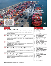 Maritime Reporter Magazine, page 2,  Oct 2020