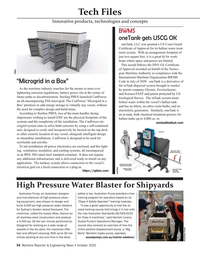 Maritime Reporter Magazine, page 54,  Oct 2020